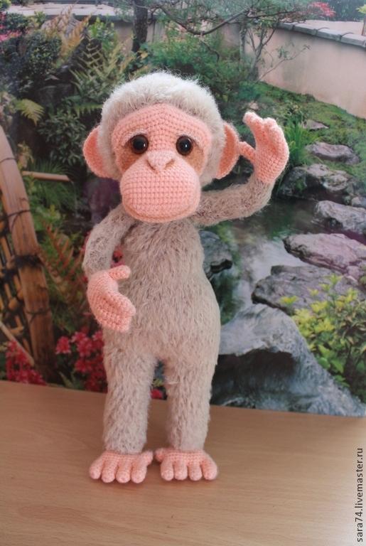 вязанию Озорных обезьянок.