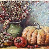 Картины и панно ручной работы. Ярмарка Мастеров - ручная работа Натюрморт Осенний. Handmade.