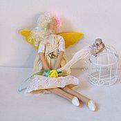 Куклы и игрушки ручной работы. Ярмарка Мастеров - ручная работа Кукла Тильда Солнечный ангел. Handmade.
