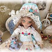 Куклы и игрушки ручной работы. Ярмарка Мастеров - ручная работа Дашенька,коллекционная текстильная куколка.. Handmade.