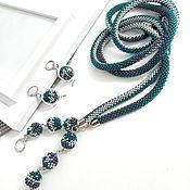 Украшения handmade. Livemaster - original item Long lariat beads