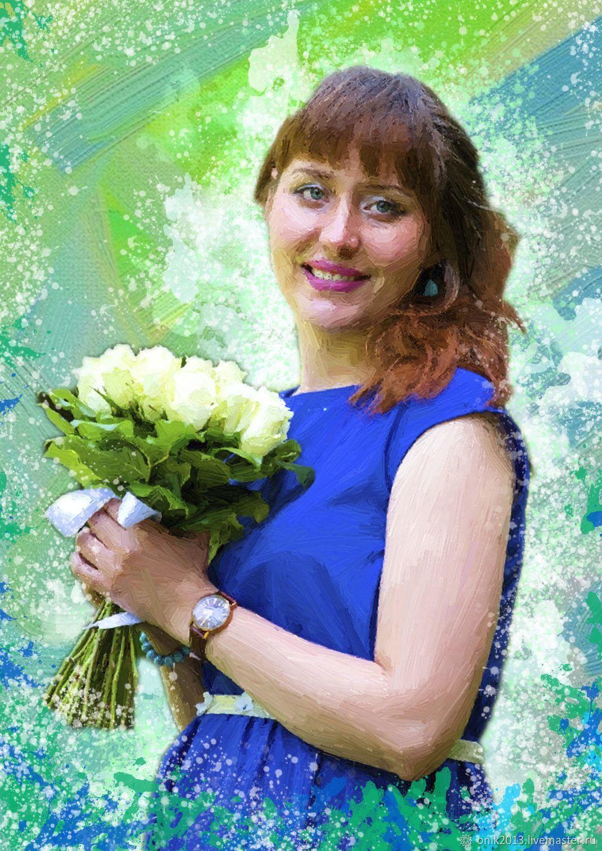 Портрет по фотографии на заказ в вологде