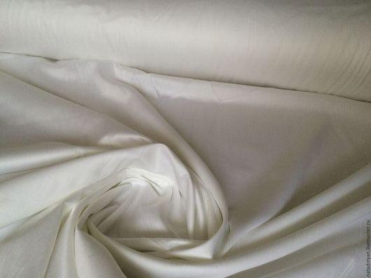 """Шитье ручной работы. Ярмарка Мастеров - ручная работа. Купить Ткань Сатин """"Белоснежный"""" хлопок 100% шир. 240 см. Handmade."""