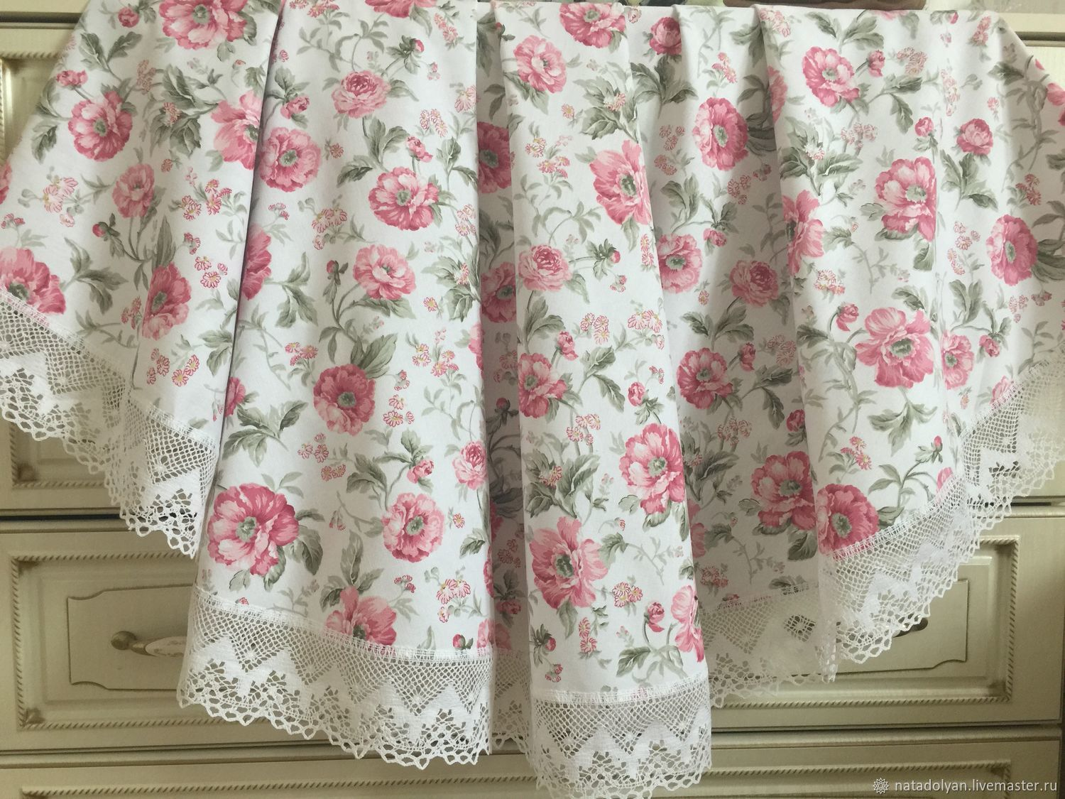 Tablecloth with dirt-repellent impregnation ' English rose', Tablecloths, Ivanovo,  Фото №1