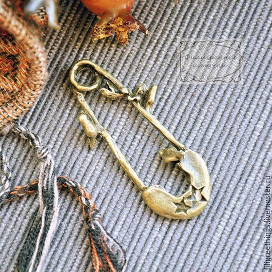 Для украшений ручной работы. Ярмарка Мастеров - ручная работа. Купить Кулон подвеска (основа для кулона) коннектор Фурнитура для украшений. Handmade.