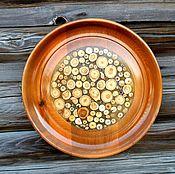 Картины и панно handmade. Livemaster - original item Plate - panel. Handmade.