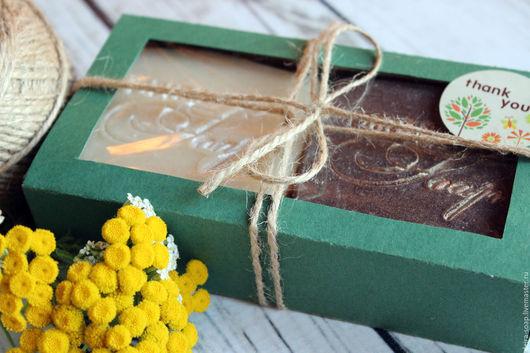 Подарочный набор натурального мыла с нуля