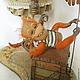 Коллекционные куклы ручной работы. Дженни и мистер Рик. Коллекционная кукла. Куклы и игрушки Светланы Ревво. Ярмарка Мастеров. Сундук