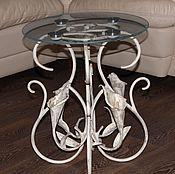 Столы ручной работы. Ярмарка Мастеров - ручная работа Кованый журнальный столик. Handmade.