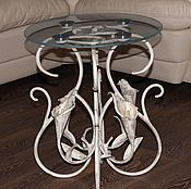 Для дома и интерьера handmade. Livemaster - original item Wrought iron coffee table. Handmade.