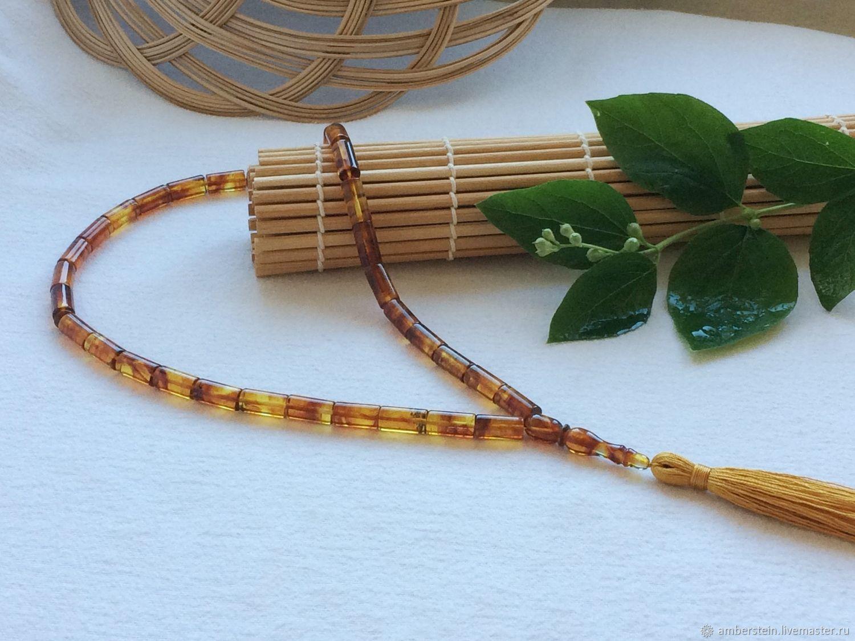 Muslim rosary from Baltic amber, Rosary, Kaliningrad,  Фото №1