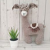 Куклы и игрушки handmade. Livemaster - original item Knitted animal handmade. Handmade.