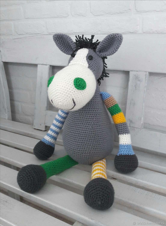 Horse Emma, interior soft toy, Stuffed Toys, Zelenograd,  Фото №1