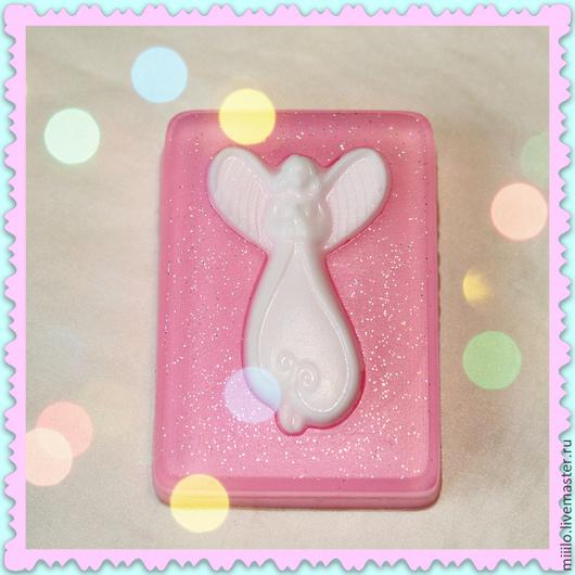 Мыло ручной работы. Ярмарка Мастеров - ручная работа. Купить мыло Ангел. Handmade. Разноцветный, ангел-хранитель, мыло сувенирное