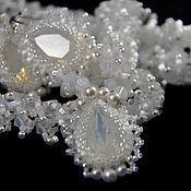 Украшения handmade. Livemaster - original item Necklace and earrings of beads