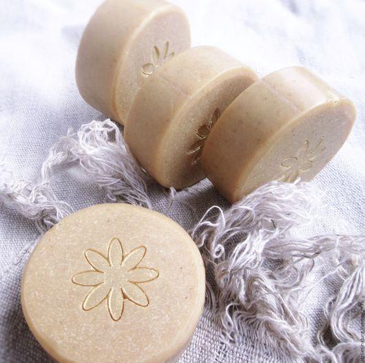 Мыло для волос «Льняное», натуральное