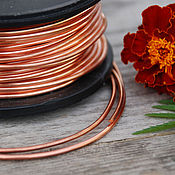 Материалы для творчества handmade. Livemaster - original item 2,0 mm; copper wire. Handmade.