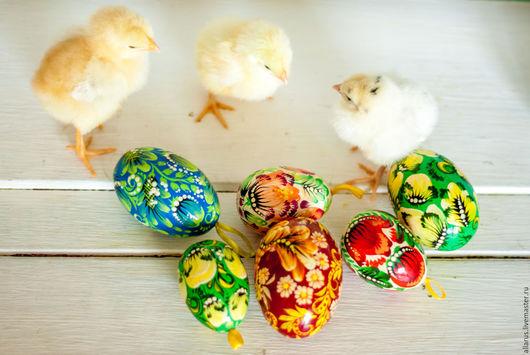 Подарки на Пасху ручной работы. Ярмарка Мастеров - ручная работа. Купить Яйца расписные. Handmade. Комбинированный, петриковская роспись