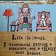 Салфетка-комикс с иллюстрацией `Думаем о жизни, я и моя собака`, салфетка для декупажа Салфетка пр-во Германия Декупажная радость