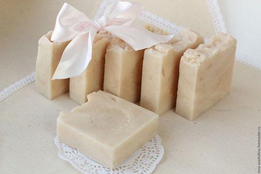 Мыло ручной работы. Ярмарка Мастеров - ручная работа. Купить Детское натуральное мыло. Handmade. Белый, мыло с д-пантенолом