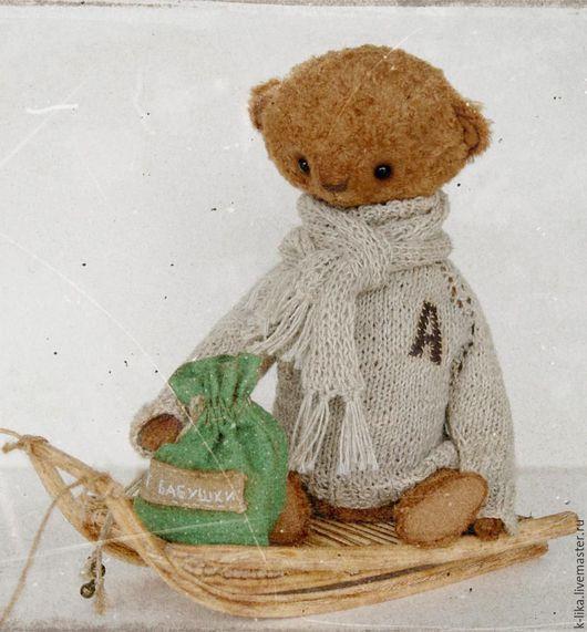 Мишки Тедди ручной работы. Ярмарка Мастеров - ручная работа. Купить Ефимка. Handmade. Мишка ручной работы, коричневый
