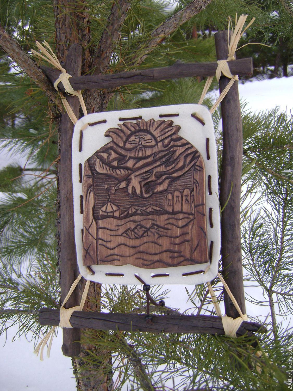 """Панно """"Полет священного орла"""", Картины, Горно-Алтайск,  Фото №1"""