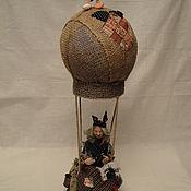 Куклы и игрушки ручной работы. Ярмарка Мастеров - ручная работа Баба Яга    А мне летать охота.... Handmade.