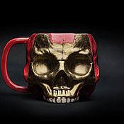 Посуда handmade. Livemaster - original item Iron man ceramic Mug for tea and coffee | Iron Man, Marvel. Handmade.