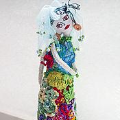 """Куклы и игрушки ручной работы. Ярмарка Мастеров - ручная работа Текстильная кукла для интерьера """"Прекрасная Долли"""". Handmade."""
