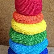 Куклы и игрушки ручной работы. Ярмарка Мастеров - ручная работа Пирамидка. Handmade.