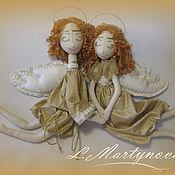 Куклы и игрушки handmade. Livemaster - original item Interior Textile Doll. ANGELS OF LOVE (LOVEBIRDS). Handmade.