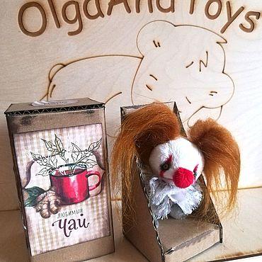 Куклы и игрушки ручной работы. Ярмарка Мастеров - ручная работа Пенивайз 9 см!. Handmade.