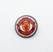 Украшения handmade. Livemaster - original item Icon football club Manchester United. Handmade.