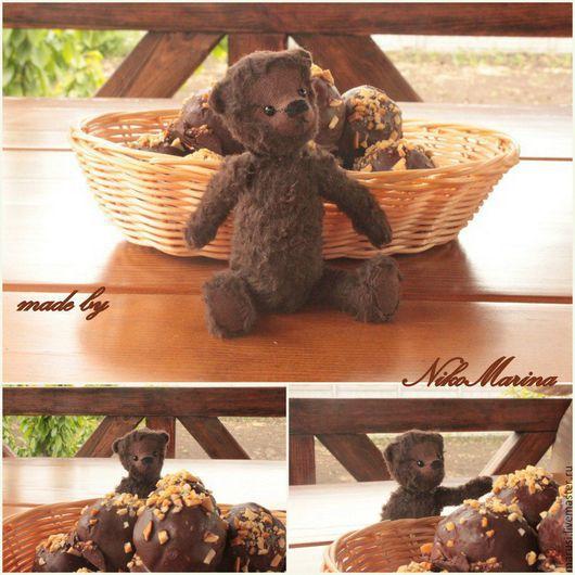 Мишки Тедди ручной работы. Ярмарка Мастеров - ручная работа. Купить Мишка Тедди Шоколад. Handmade. Мишка тедди
