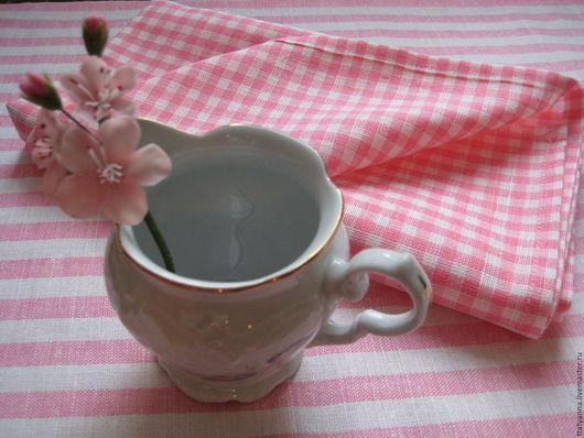 """Для дома и интерьера ручной работы. Ярмарка Мастеров - ручная работа. Купить Комплект полотенец для кухни """"Розовый 2"""". Handmade."""