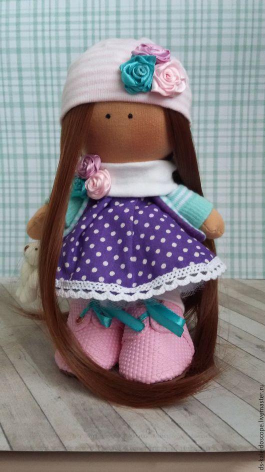 Куклы тыквоголовки ручной работы. Ярмарка Мастеров - ручная работа. Купить Интерьерная кукла Настя. Handmade. Кукла ручной работы