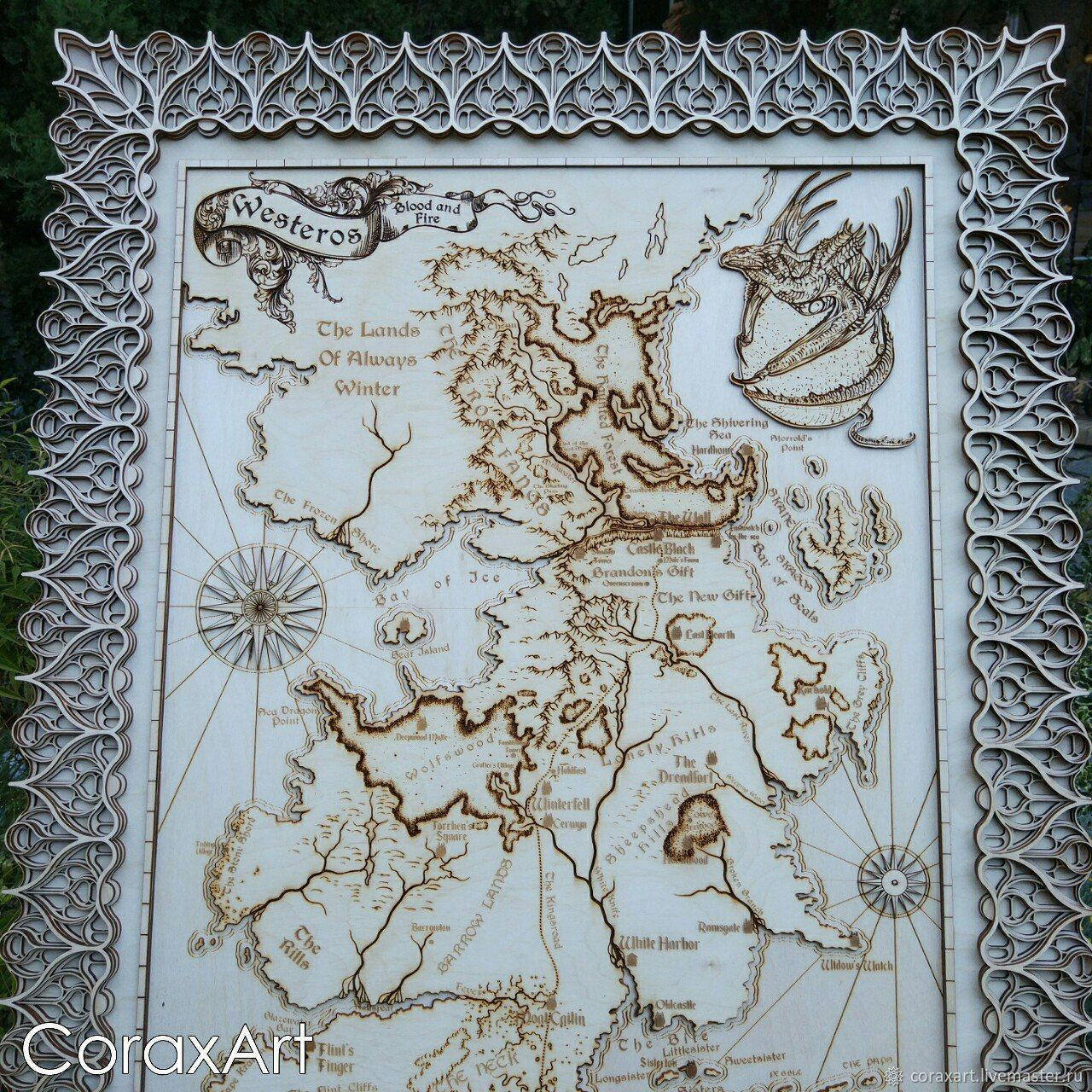 Game Of Thrones Map Westeros Map Seven Kingdoms Map Ice And Fire