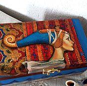 Для дома и интерьера ручной работы. Ярмарка Мастеров - ручная работа Летящая - чайная шкатулка. Handmade.