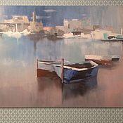 Картины ручной работы. Ярмарка Мастеров - ручная работа Картины: Лодки. Handmade.