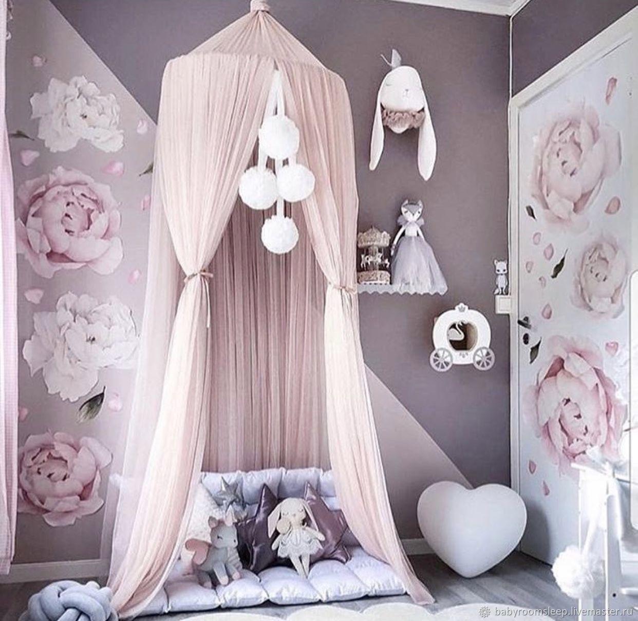"Балдахин ""Light pink"", Балдахин для кроватки, Москва,  Фото №1"