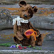 Куклы и игрушки handmade. Livemaster - original item Teddy bear Soviet (pattern 50-70 years) with a roar. Handmade.