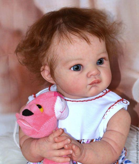 Куклы-младенцы и reborn ручной работы. Ярмарка Мастеров - ручная работа. Купить кукла реборн Пуговка. Handmade. Реборн