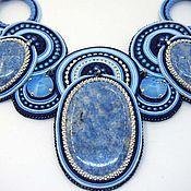 Украшения handmade. Livemaster - original item Soutache necklace