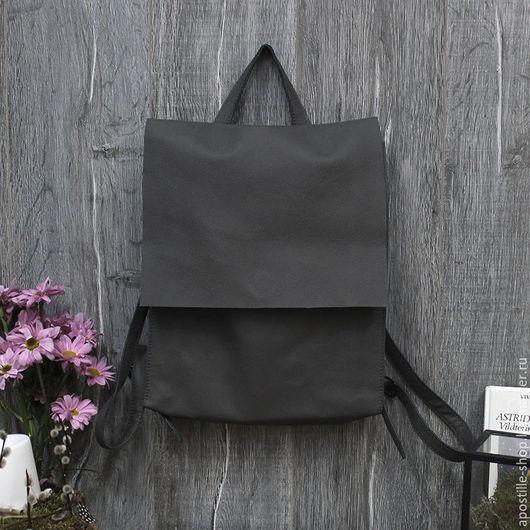 Рюкзаки ручной работы. Ярмарка Мастеров - ручная работа. Купить Рюкзак GoTravel Lady Grey 3.0. Handmade.