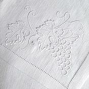 Салфетки ручной работы. Ярмарка Мастеров - ручная работа Программа для машинной вышивки Белый виноград. Handmade.