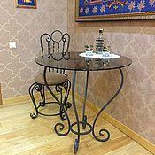Для дома и интерьера handmade. Livemaster - original item The forged round table. Handmade.