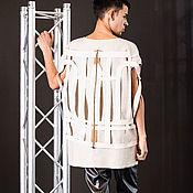 Одежда ручной работы. Ярмарка Мастеров - ручная работа Блуза мужская. Handmade.