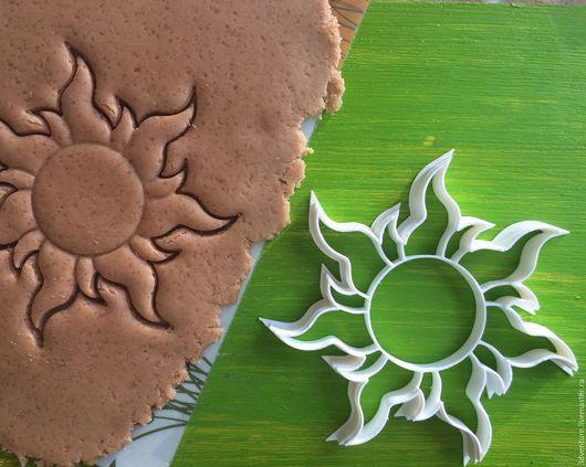 Кухня ручной работы. Ярмарка Мастеров - ручная работа. Купить Форма для печенья Солнце (Рапунцель). Handmade. Разноцветный, формочка для печенья