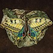 """Скульптуры ручной работы. Ярмарка Мастеров - ручная работа Панно """"Бабочка"""". Handmade."""