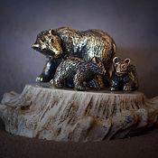 Статуэтки ручной работы. Ярмарка Мастеров - ручная работа Три медведя. Handmade.